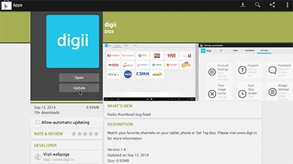 How to Update Digii App