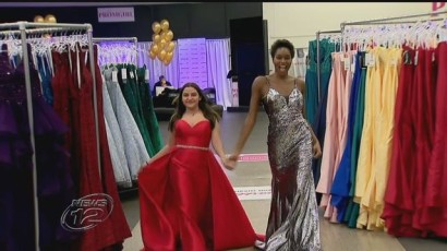 50 girls get to pick prom dresses